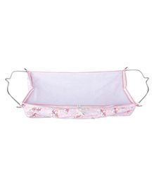 Multipro Soft Cloth Hammock With Metal Hangers - Pink