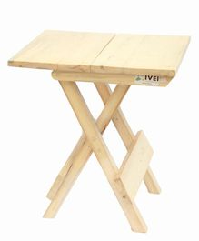 IVEI Wooden Portable Folding Table Large - Off White