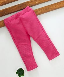 Fox Baby Full Length Solid Color Lounge Pant - Fuchsia Pink