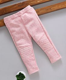 Fox Baby Full Length Solid Color Lounge Pant - Light Pink