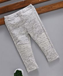 Fox Baby Full Length Solid Color Lounge Pant - Light Grey