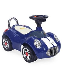 A Plus B Martin Car Manual Push Ride On Car - Dark Blue
