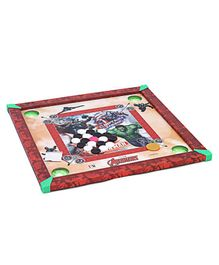 Marvel Avengers Carrom Board - Red