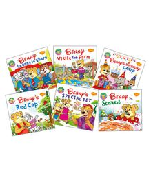 Benny First Stories Sharing Theme Set of 6 - English