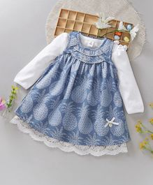 ToffyHouse Frock with Inner A.Force 24M-36M