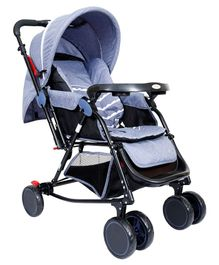 1st Step Baby Rocker Cum Stroller - Grey