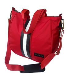 Bohomia Be-A-Sport Hobo Diaper Bag - Red