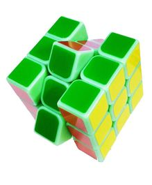 Emob Glow in the Dark Rubik Cube - Multi Color