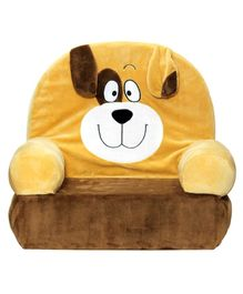 Soft Buddies Animal Puppy Baby Chair - Brown Yellow