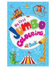 My First Jumbo Colouring Book - English
