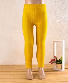 Mustang Full Length Tights Stockings - Yellow