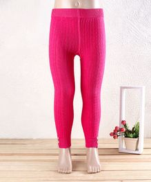 Mustang Full Length Tights Stockings - Fuchsia