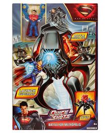 DC Comics Superman Man Of Steel Battle for metropolis Quick shots Figure
