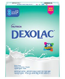 Dexolac Stage 3 Follow Up Infant Formula - 400 gm