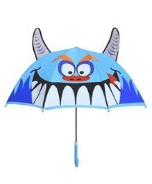 Little Maira Animal Theme Umbrella - Blue