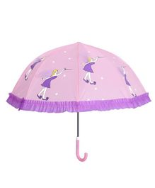 Little Maira Magician Print Umbrella - Purple