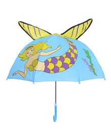 Little Maira Water Fairy Theme Umbrella - Blue