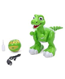 Smiles Creation Remote Control Dinosaur Green - Height 33.5 cm