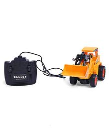 Smiles Creation Remote Control Bulldozer Toy - Yellow