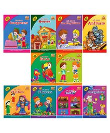 Learning Books Series Multicolour Pack of 10 - English