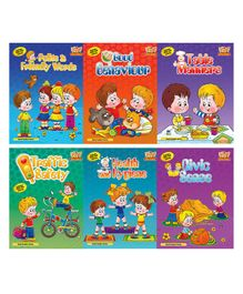 Good Conduct Series Multicolour Pack Of 6 - English
