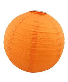 Amfin Round Paper Lampshade - Orange