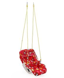 Infanto 7 In 1 Swing Bouncer Lion Print - Red