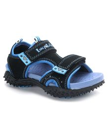 Lucy & Luke Floater Sandals - Blue Black