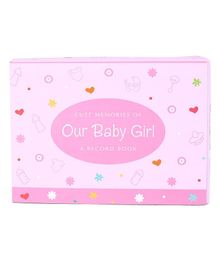 Archies Baby Girl Record Book - Pink