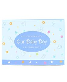 Archies Baby Boy Record Book - Blue