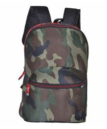 Avon Bags Waterproof Backpack Camo Print Black - Bag Height 17 Inches