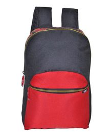 Avon Bags Waterproof Backpack Red & Black - Height 17 Inches