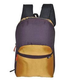 Avon Bags Waterproof Backpack Maroon & Golden - Height 17 Inches