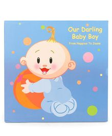 Archies Baby Record Book Boy - Blue