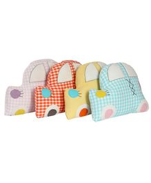 My Gift Booth Cars Cushion Set Multicolour - Pack of 4