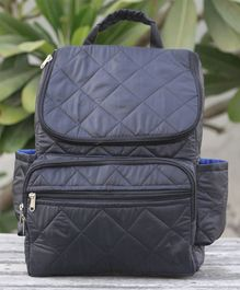 My Gift Booth Backpack Style Diaper Bag - Black