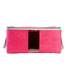 My Gift Booth Quilted Cloth Organizer - Pink