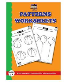 Creative 4 Tots Patterns Worksheets Activity Book - English