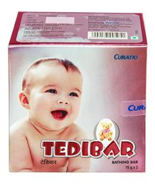 Curatio Tedibar Bathing Bars Pack of 2 - 75 gm each