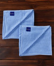 MicroCotton Towel Pack of 2 - Blue