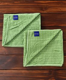 MicroCotton Towel Pack of 2 - Green