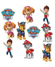 Party Propz Paw Patrol Cut Out Stickers Multicolour