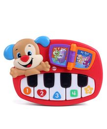 Fisher Price Puppy Piano - Red