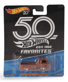 Hot Wheels 60 Ford Econoline Toy Car - Brown