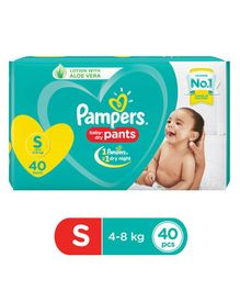 Pampers Pant Style Diapers Small Size - 40 Pieces