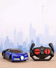 Remote Control Sport Car - Black & Blue