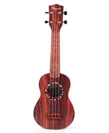 Musical Acoustic Guitar - Brown