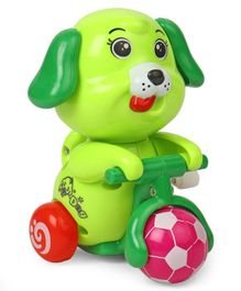 Doggy Shaped Wind Up Toy - Green