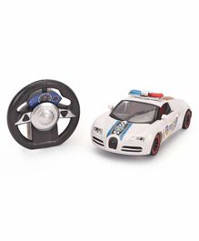 Remote Controlled Police Car - White