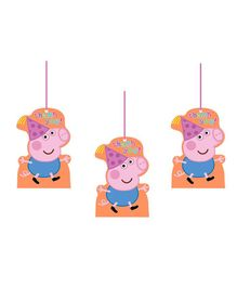 Party Propz Peppa Pig Thank You Tags Multi Colour